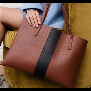 VINCE CAMUTO Vegan Leather Tote Bag